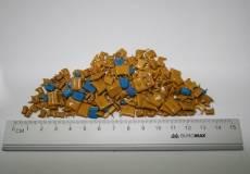 8. Конденсаторы К10-17 в окукленном корпусе (вес)